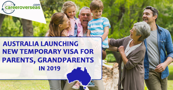 Australia Launching New Temporary Visa for Parents, Grandparents in 2019